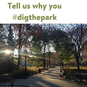#digthepark fall