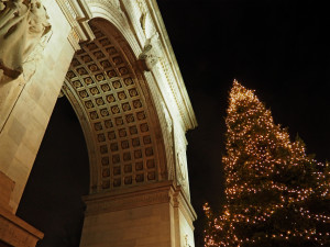 2016 Christmas tree at the Arch