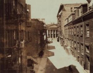 Minetta Lane, Courtesy of Ephermeral New York
