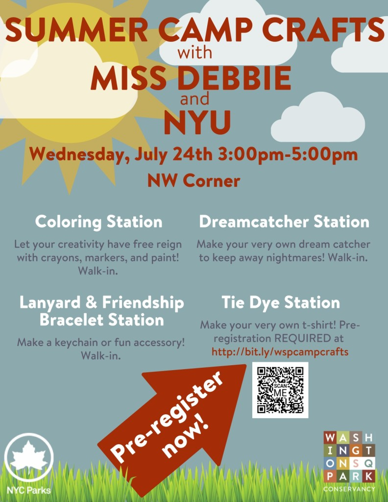 Summer Camp Crafts with Miss Debbie and NYU | Washington